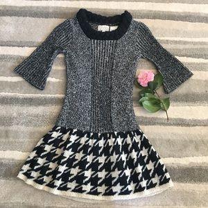blush by Us Angels Dress Drop Waist Knit